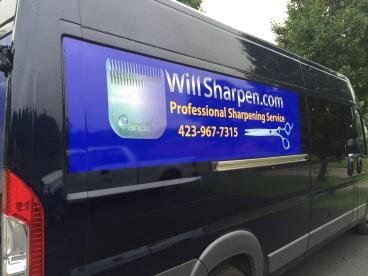 Passenger Side Graphic for Will Sharpen