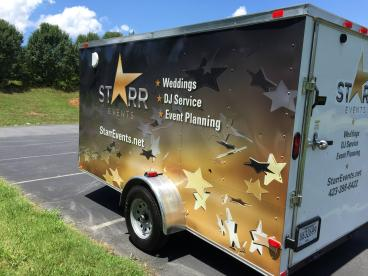 Trailer Wrap for Star Events in Blountville TN!