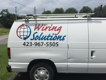 Decal work for Wiring Solutions