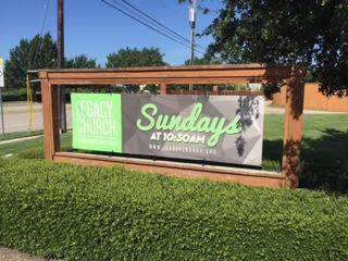 Legacy Church of Plano Banner