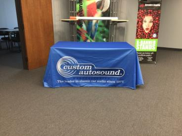 Table Throw for Custom Autosound based in Southern California!!