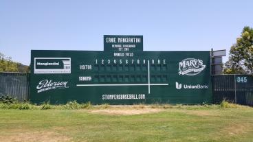 Arnold Field Scoreboard