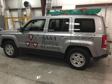 AAA-1 Jeep Graphics Driver's Side