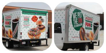 Krispy Kreme Box Truck