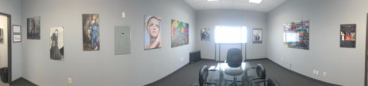 Panoramic of our conference room in Plano, TX