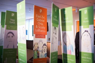 Banner Stands - Fundraiser - Academy for Global Citizenship - Chicago