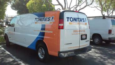 Tonita's Van Wrap