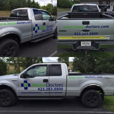 Truck Decals for House Doctors