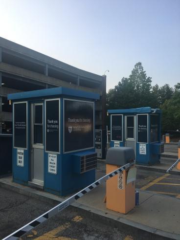 Newton-Wellesley Parking Booths