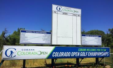 Colorado Open Golf Leaderboard Graphics!