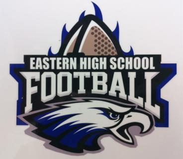 Car Decal - Eastern High School Foot Ball Booster Club