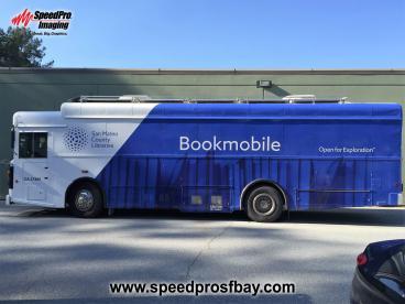 San Mateo County Libraries Bookmobile