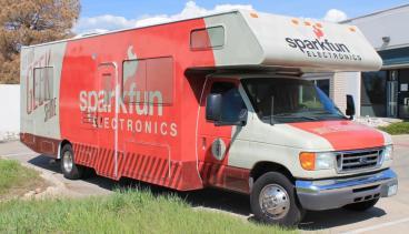 Sparkfun Electronics Camper fleet wrap denver, CO