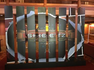 Event  Display for the Sheetz corporate convention