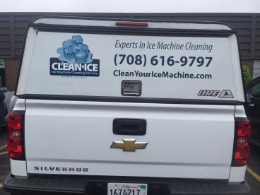 Truck Decals - Clean Ice - Downers Grove