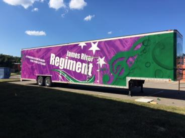 James River High School  Band Trailer Full Wrap