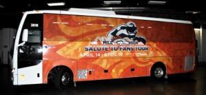 Denver Broncos Fan Bus