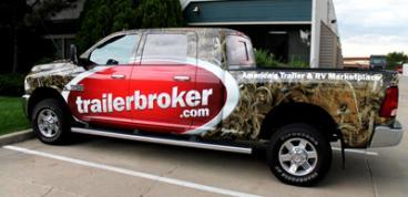 Trailer Broker Truck Wrap