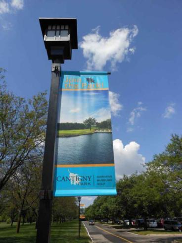 Pole Banner - Cantigny Park - Wheaton, IL