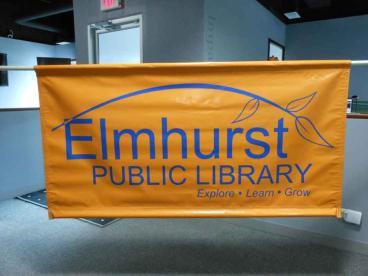 Parade Banner - Elmhurst Public Library