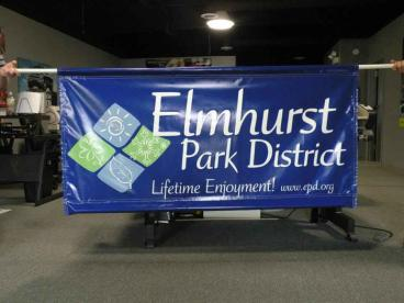 Parade Banner - Elmhurst Park District