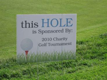 Event Sign - Sponsor Recognition - Naperville