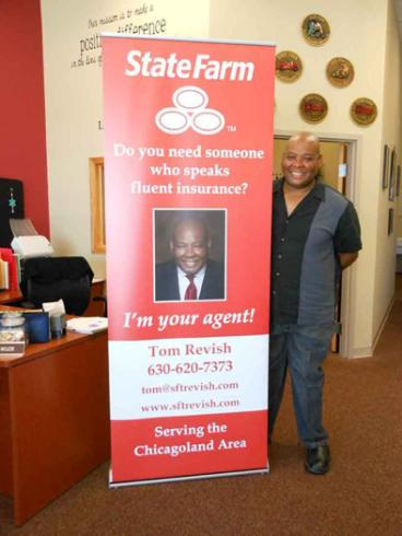 Banner Stand - State Farm - Chicago