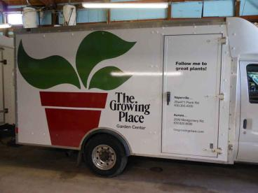 Trailer Wrap - The Growing Place Garden Center, Naperville