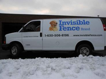 Van Wrap - Invisible Fence Fleet