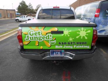 Truck Wrap - Bob Jung Painting, Naperville
