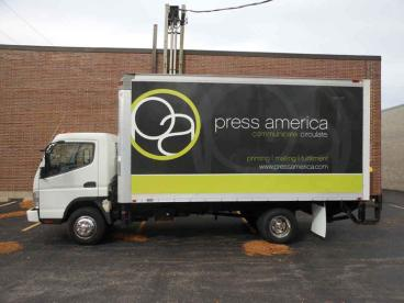 Truck Wrap - Press America, Elk Grove Village