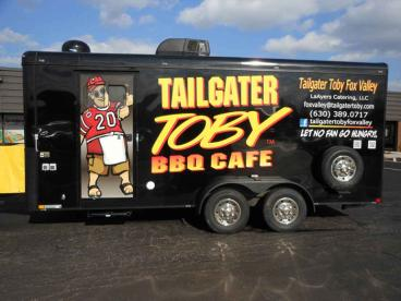 Trailer Wrap - Tailgater Toby