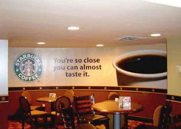 Starbucks Wall Mural