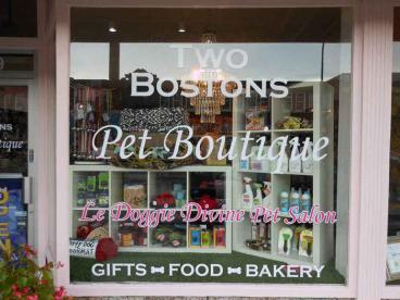 Window Graphic - Two Bostons, Naperville