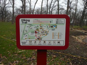 Directional Signage - Hiking Trail