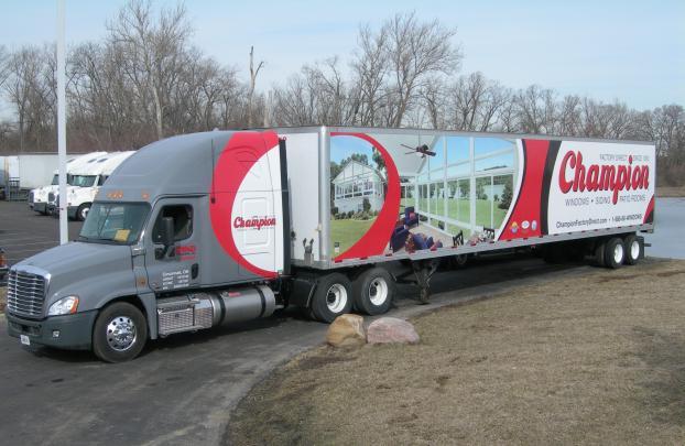 3 Fleet Wrap_Freight Companies 2 Vehicle Wrap