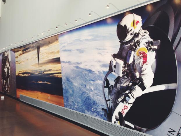 Wall murals speedpro imaging for Astronaut wall mural