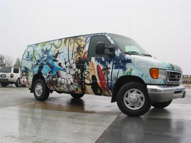 20 vehicle Wrap