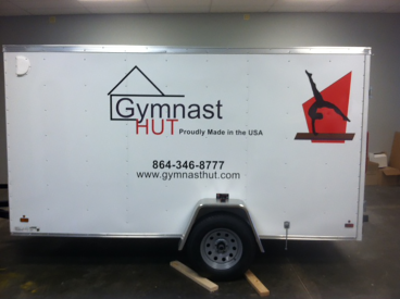 Gymnast Hut, SpeedPro Greenville