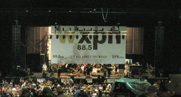 60' x 40' Stage Banner