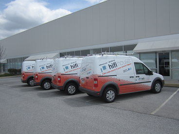 Full Vehicle Wraps Ford Transits