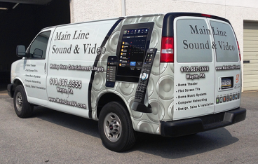 Full Vehicle Wrap - Chevy Express