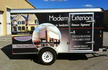 Full Vehicle Wrap - 12ft Trailer