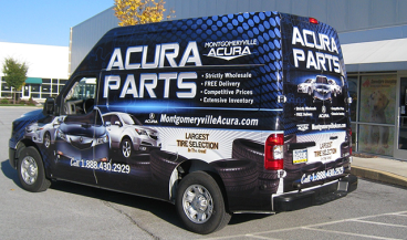 Full Vehicle Wrap - Nissan NV2500