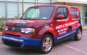 Full Vehicle Wrap - Nissan Cube