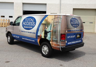 Full Vehicle Wrap - Ford E-250