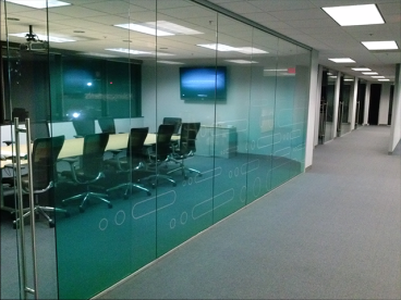 2nd Surface Optically Clear Window Vinyl