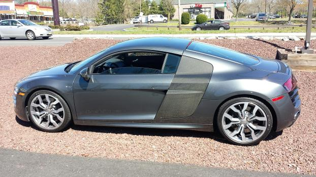 We saved this Audi R8's windshield!