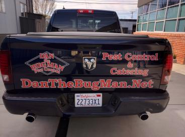Dan the Bug Man reflective decals