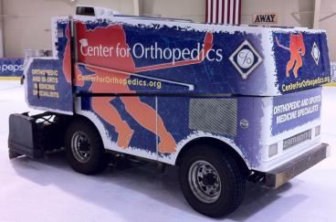 Center for Orthopedics Wrapped Zamboni